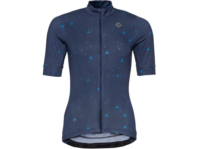 Triple2 Velozip Recycled Poly SS Jersey Women peacoat